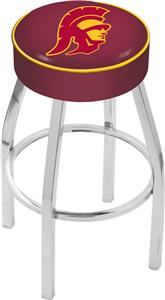 Holland Univ Southern California Chrome Bar Stool