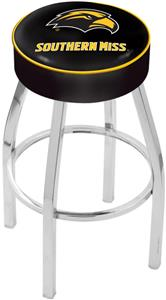 Holland Univ Southern Mississippi Chrome Bar Stool