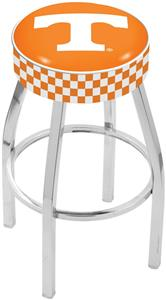 Holland University of Tennessee Chrome Bar Stool