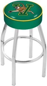 Holland University of Vermont Chrome Bar Stool