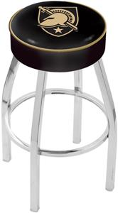 Holland US Military Academy Chrome Bar Stool