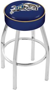 Holland US Naval Academy Chrome Bar Stool
