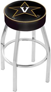 Holland Vanderbilt University Chrome Bar Stool