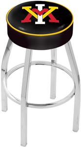Holland Virginia Military Inst Chrome Bar Stool
