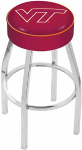Holland Virginia Tech University Chrome Bar Stool