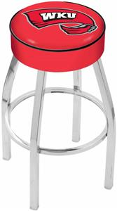 Holland Western Kentucky Univ Chrome Bar Stool
