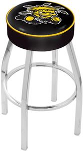 Holland Wichita State University Chrome Bar Stool