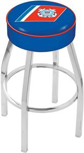 Holland United States Coast Guard Chrome Bar Stool