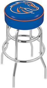 Holland Boise State Univ Double-Ring Bar Stool