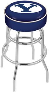 Holland Brigham Young Univ Double-Ring Bar Stool