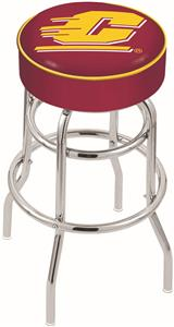 Central Michigan Univ Double-Ring Bar Stool