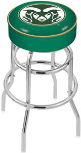 Holland Colorado State Univ Double-Ring Bar Stool
