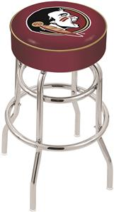 Holland Florida State Head Double-Ring Bar Stool
