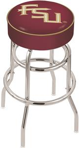 Florida State Script Double-Ring Bar Stool
