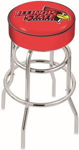 Holland Illinois State Univ Double-Ring Bar Stool