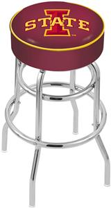 Holland Iowa State Univ Double-Ring Bar Stool