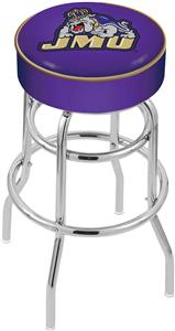 Holland James Madison Univ Double-Ring Bar Stool