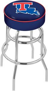 Holland Louisiana Tech Univ Double-Ring Bar Stool