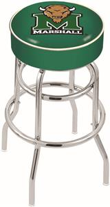 Holland Marshall University Double-Ring Bar Stool