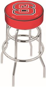 North Carolina State Univ Double-Ring Bar Stool