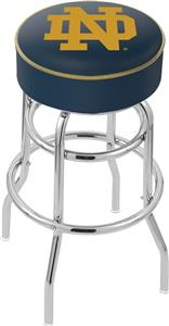 Holland Notre Dame ND Double-Ring Bar Stool