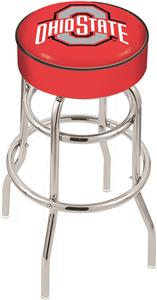 Holland Ohio State Univ Double-Ring Bar Stool