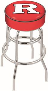 Holland Rutgers University Double-Ring Bar Stool