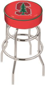 Holland Stanford University Double-Ring Bar Stool