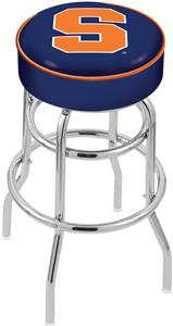 Holland Syracuse University Double-Ring Bar Stool