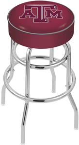 Holland Texas A&M Double-Ring Bar Stool