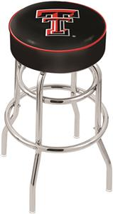 Holland Texas Tech Univ Double-Ring Bar Stool