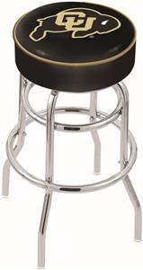 University of Colorado Double-Ring Bar Stool