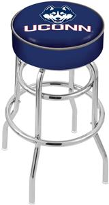 University of Connecticut Double-Ring Bar Stool