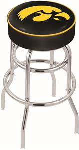 University of Iowa Double-Ring Bar Stool