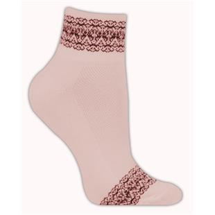 Red Lion Lace Band High Tech 1/4 Crew Socks