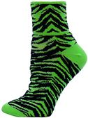 Red Lion Tiger Stripe 1/4 Crew Socks