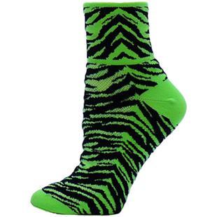 Red Lion Tiger Stripe 1/4 Crew Socks