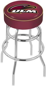 Univ Louisiana at Monroe Double-Ring Bar Stool