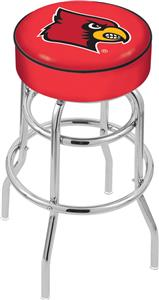 University of Louisville Double-Ring Bar Stool