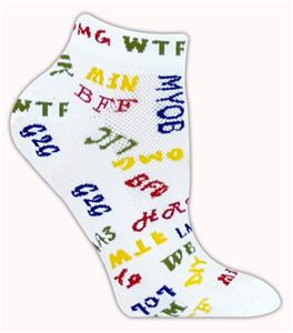 Red Lion Text Me High Tech Low Cut Socks