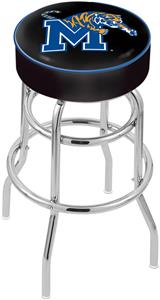 University of Memphis Double-Ring Bar Stool
