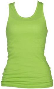 Boxercraft Girls Boyfriend Tank Neon Tops