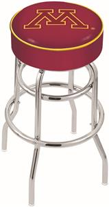 University of Minnesota Double-Ring Bar Stool