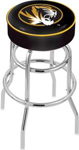 University of Missouri Double-Ring Bar Stool