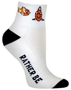 Red Lion Clown Fish High Tech 1/4 Crew Socks