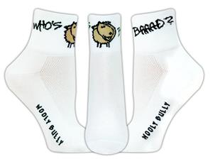 Red Lion Who's Baaad High Tech 1/4 Crew Socks