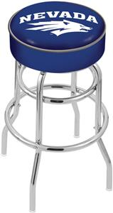University of Nevada Double-Ring Bar Stool