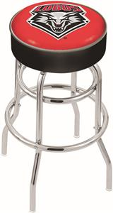 Univ of New Mexico Double-Ring Bar Stool