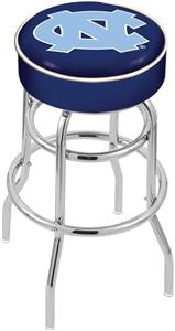 Univ of North Carolina Double-Ring Bar Stool