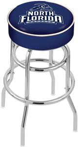 Univ of North Florida Double-Ring Bar Stool